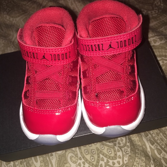new style 1020a 5aae7 Air Jordan Retro 11 Win Like 96 Infant Shoes 4c